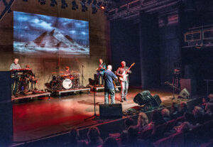 Joe O'Donnell's Shkayla on stage at The Coventry Belgrade
