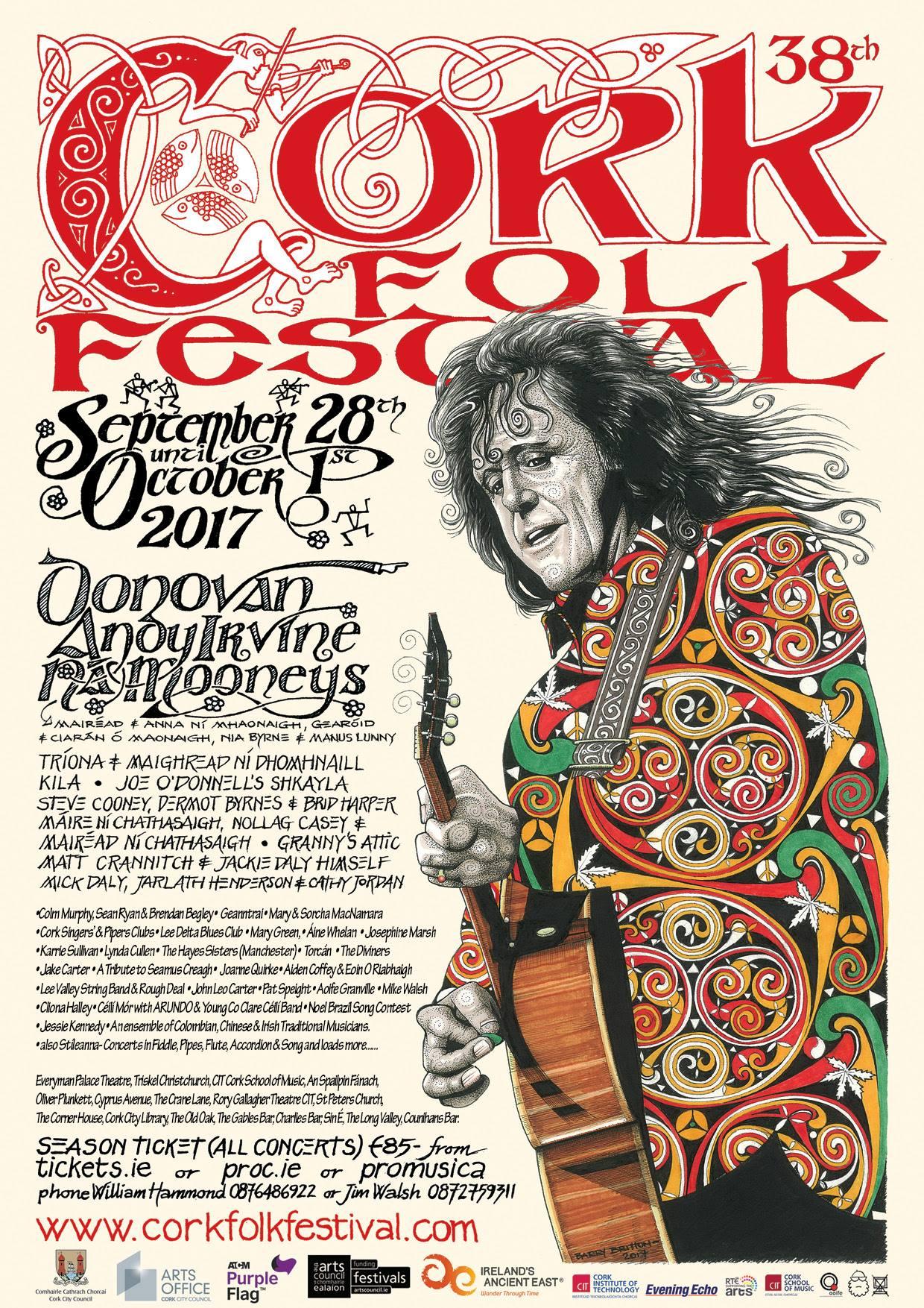 joeodonnellsshkayla play Cork Folk Festival 2017
